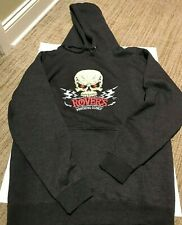 Rovers's Morning Glory Black Gray Hoodie Size Large Unisex 2014