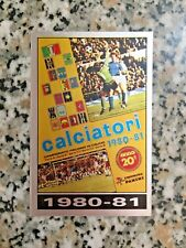 COPERTINA 1980-81 N. 336 album CALCIATORI PANINI 1985-86 ORIGINALE OTTIMA VELINA