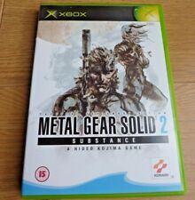 Metal Gear Solid 2 Substance Game for Xbox Original UK PAL Region 2