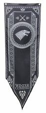Game Of Thrones- House Stark Tournament Banner Fabric Poster 20 x 60in