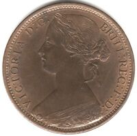 1866 Victoria One Penny | British Coins | Pennies2Pounds