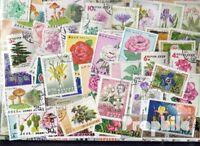 Motive 50 verschiedene Blumen und Pflanzen Marken