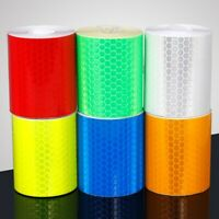 300cm Reflective Tape Decal Sticker Cycle Bike Safety Film Reflector Strip Roll