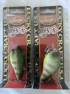 Lucky Craft Fat CB BDS 2 B.D.S. Bds2 Shokunin Rootbeer Gill Qty (2) Baits.
