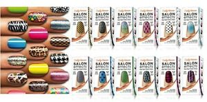 SALLY HANSEN SALON EFFECTS REAL NAIL POLISH STRIPS : CHOOSE STYLE **BRAND NEW**