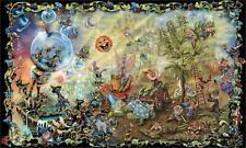 Psychedelic Trippy Art Silk Poster Wall Decor 24x36inch