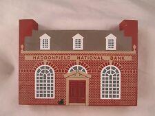 Cat's Meow Haddonfield National Bank Series XI 1993 Shelf/Windowsill Sitter
