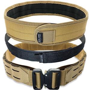Bear Armz Tactical Battle Belt | Molle Riggers Belt | War Belt | Heavy Duty Pad