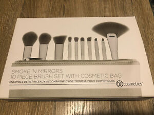 BH Cosmetics - Smoke 'n Mirrors - 10 Piece Metalized Brush Set