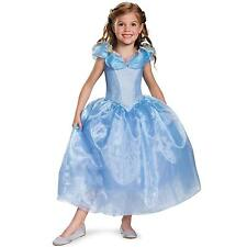 Cinderella Movie Deluxe Child Costume for Girls Size M (7-8)