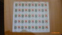 Bund: Mi.-Nr. 980-81Tag der Briefmarke 1978, 1 Bogen komplett postfrisch !