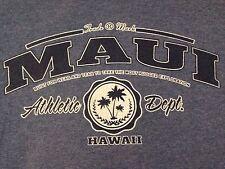 VINTAGE MAUI HAWAII ATHLETIC DEPT. T SHIRT SMALL