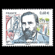 France 2015 - 200th Anniv the Birth of Martin Nadaud Politician - Sc 4838 MNH