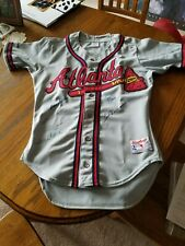 MULTI SIGNED 500 HR CLUB ATLANTA BRAVES JERSEY - 8 SIGNATURES W/BECKETT COA***