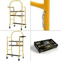 job site series 5 ft. x 4 ft. x 2-1/2 ft. scaffold 900 lbs. load capacity | new