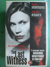 THE LAST WITNESS   -  ORIGINAL BIG BOX RELEASE - RARE & DELETED