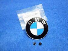BMW e60 e61 5er Emblem NEU Heckklappe Motorhaube Logo Badge Bonnet Trunk Lid NEW