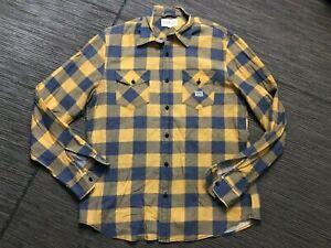Denim Supply Ralph Lauren Mens Large Button Up Shirt Gingham