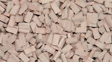 1/72 Scale bricks (RF) medium terracotta 2000 pcs - 00 gauge railway
