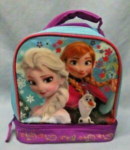 Disney Frozen Elsa Anna Insulated Cooler Lunch Bag