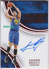 2015-16 IMMACULATE INK ON CARD AUTO RED: ANDREW BOGUT #18/25 AUTOGRAPH WARRIORS