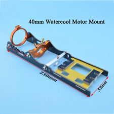 B40 water cool brushless motor mount with T bar clamp & fiber plate rc boat 1437