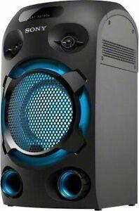 Sony MHC-V02 Bluetooth-Lautsprecher (Bluetooth, NFC, Karaoke-Anlage)