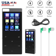 8GB/16GB Touch Screen MP3 Player Recorder Lossless Sound HIFI Music Player USA