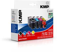 Original KMP Vorteilspack C66V für Canon PGI-5BK CLI-8 C 8M 8Y PIXMA iP4200 4300