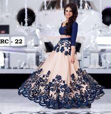 Bollywood Party Wedding Wear Indian Pakistani Designer Silk Net Lehenga Choli