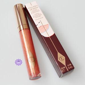 Charlotte Tilbury Peachy Plump Collagen Lip Bath Gloss *100% GENUINE* Brand New