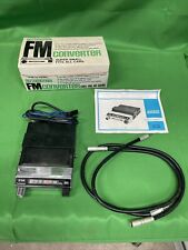 Realistic Automotive FM Converter 12-1345 Full Set with the Manuals and Box