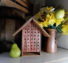 Beautiful Happy Craftsman Style Mason Bee House From OREGON TREES