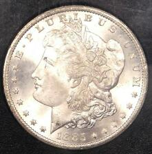1885-CC Morgan Silver Dollar $1 Coin in GSA Holder - PCGS MS66 PQ - Rare!
