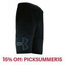 New With Tags Mens Under Armour Gym UA Big Logo Muscle Athletic Logo Shorts