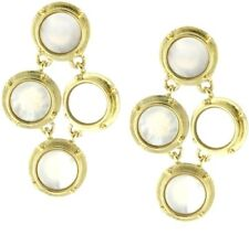 Kate Spade All Aboard Cruise Earrings NWT Cruise Ship Mother of Pearl Port Hole