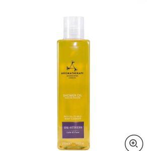 Aromatherapy Associates De-Stress  Shower Oil 250ml BRAND NEW