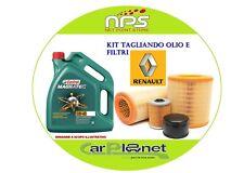 Kit Tagliando Olio e Filtri RENAULT MEGANE (II) 2.0 DCI 110Kw/150cv dal 2005