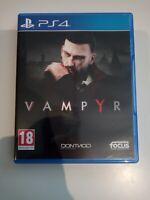 vampyr ps4 ps4 playstation 4 neuf
