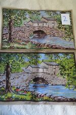 """Large completed Tapestry/needlepoint ,Malhan Yorkshire  24"""" X 14"""""""