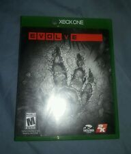 Evolve Xbox One replacement case and manual only