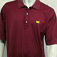 Augusta National Masters Golf Shop Polo Sz L Red Slazenger Fairway Shirt mens