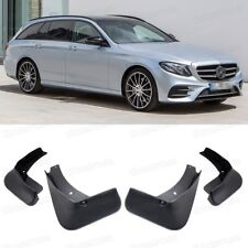 Car Mudguard Mudflaps Splash Guards Fender for Mercedes E-Class Estate AMG Line