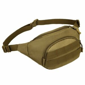 Tactical Waist Bag Military Fanny Pack Pack Waterproof Hip Belt Bags Pouch Phone