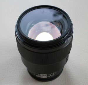 Sony FE 85mm f/1.8 lens - very good condition