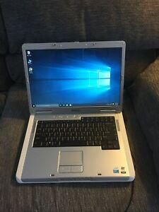 """Dell Inspiron E1505 15.4""""(Intel Core Duo/160GB/4GB Ram/Win10/Office07)-Excellent"""