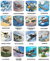 Spitfire Lampshades, Ideal To Match Aircraft Spitfire Wall Decals & Stickers.