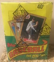 1987 Topps Baseball Card 36-Pack, Unopened Wax Box - BBCE Authenticated - FASC