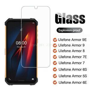 Tempered Glass For Ulefone Armor 9E 9 8 7E 7 6S 6E 5S X5 Screen Protector Glass