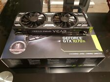 EVGA GeForce GTX 1070 SC Gaming noire ACX 3.0 Edition 8 Go, GDDR 5, DEL, DX12 OSD